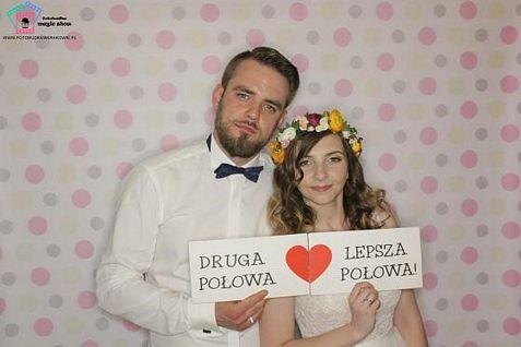 fotobudka na wesele - Kamila i Karol